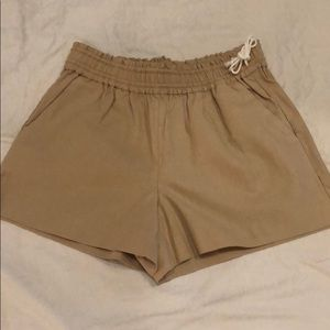 Jcrew Side Tie Shorts
